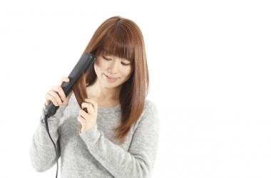 髪の性質を理解したアイロンの使い方
