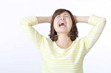 白髪の原因③ ストレス