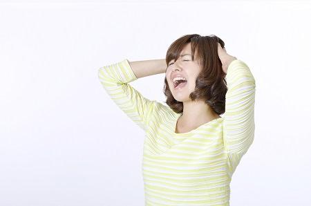ヘアサイクル以外の抜け毛の原因② ストレスによる抜け毛