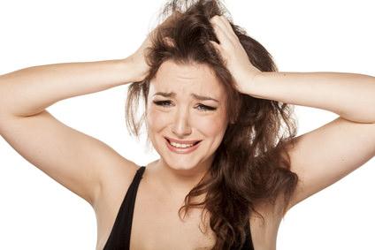 頭皮のかゆみの原因⑥ ストレス