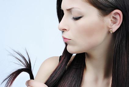 切れ毛の原因について