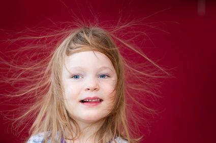 静電気と髪