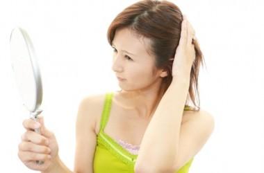 つむじと髪の生え方