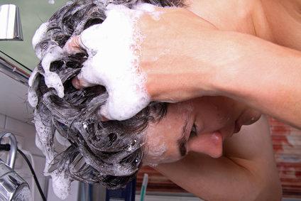 男性の洗髪方法