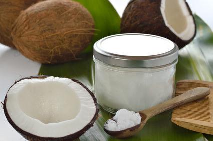 ココナッツオイルヘアパック