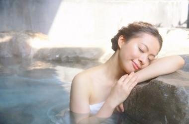 温泉は薄毛に効果的?