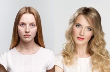 髪がきれいな人とそうでない人の生活比較