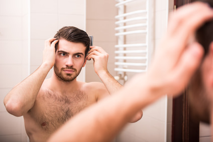 男性のブラッシングの重要性