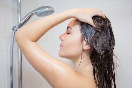 1日染めをキレイに洗髪する方法