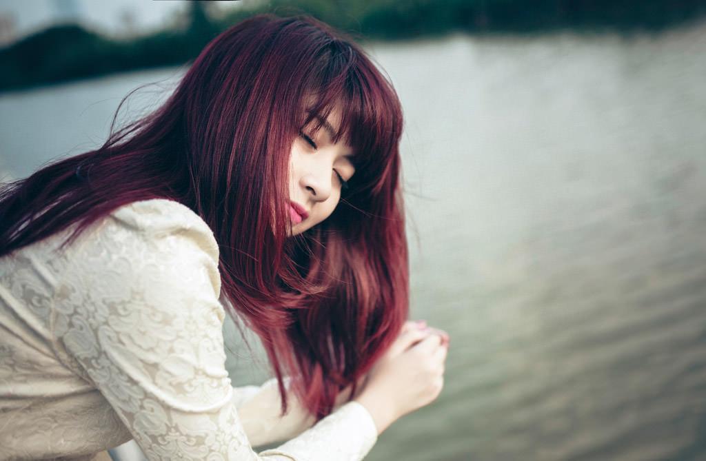 髪の赤みを取る方法
