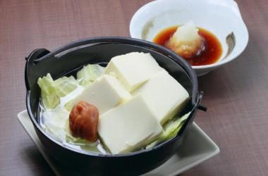 心も身体も暖まる湯豆腐を食べて美髪に