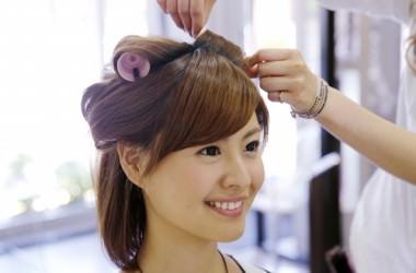 アイロンを使わずに髪を巻く方法