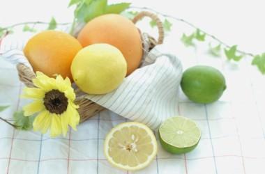 柑橘類の美髪効果