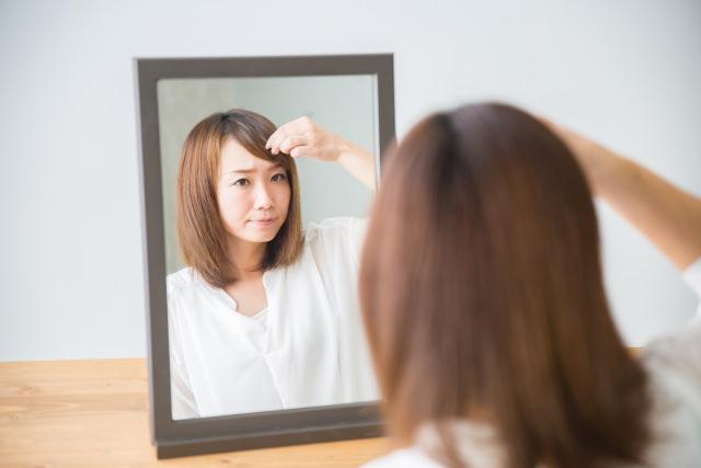 癖がつかない前髪の乾かし方