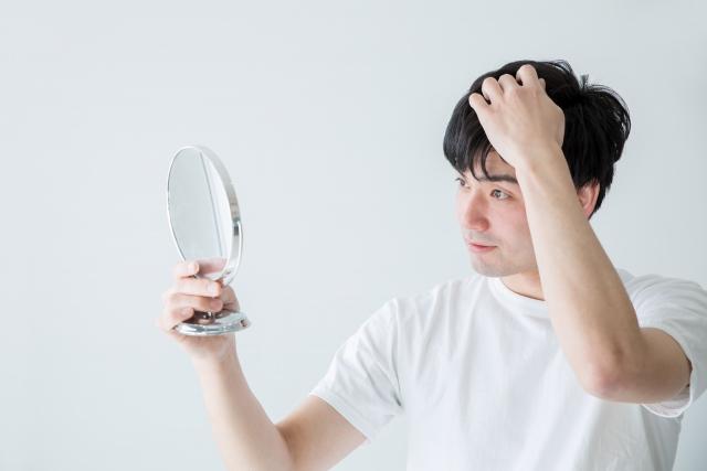 シャワーの時に髪が良く抜ける・・・原因は?