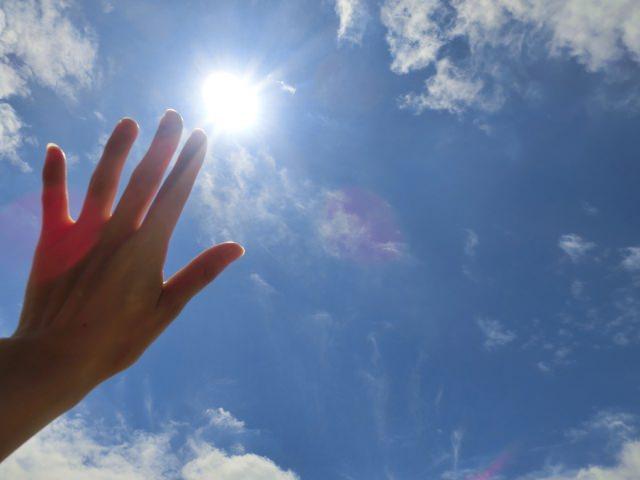 頭皮の日焼け対策