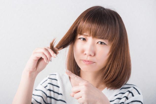 顔周りの髪の毛が傷みやすい理由とは?