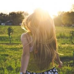 髪は冬でも日焼けする?