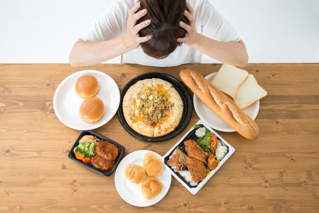 三大欲求のうちの食欲がカギ!ファーストフードの悪影響と髪に艶を与える食べ物について