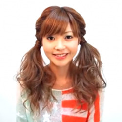 ★ゆるふわツインテール★ ヘアアレンジ ロングヘア