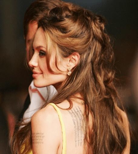 アンジェリーナジョリーのタトゥー