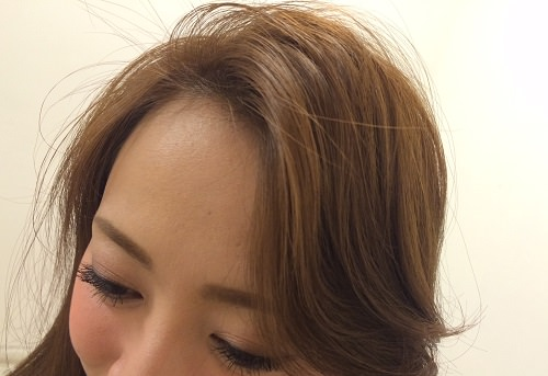 かきあげ前髪3