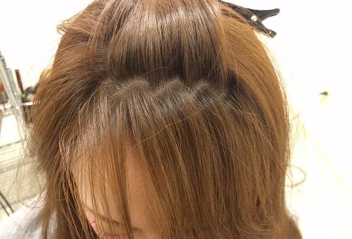 かきあげ前髪1