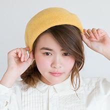ベレー帽がアクセント4