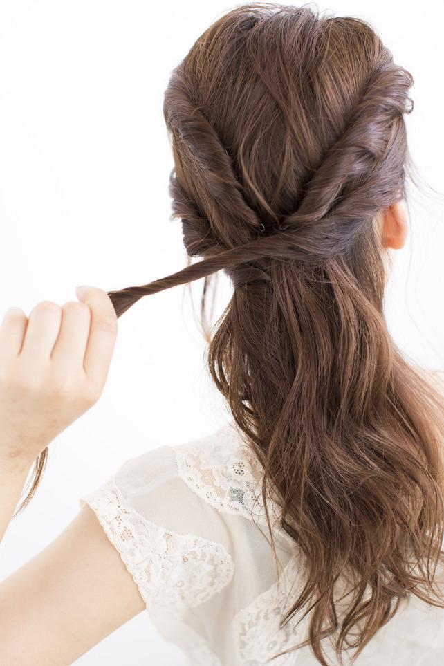 絶妙な毛束 STEP1