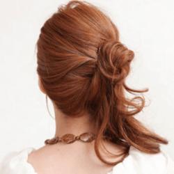 マーメイドバングで魅せるサイドアレンジ ヘアアレンジ ロングヘア