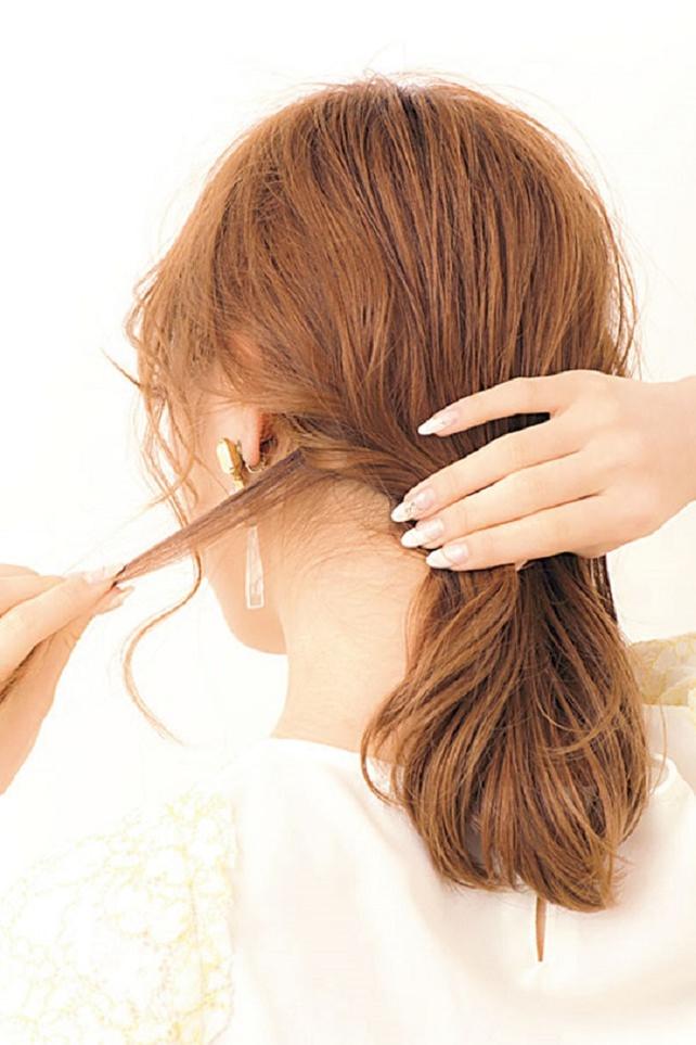 ざっくり巻きで色っぽヘア2