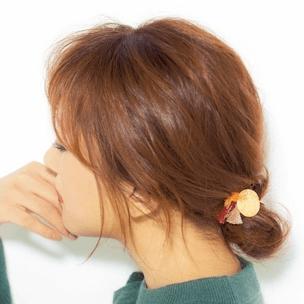 下めコンパクトが美人バランス! シニヨンヘア★ ヘアアレンジ ミディアムヘア