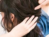 ☆人と差がつく!こぼれ毛いっぱいのローポニーテール☆step3