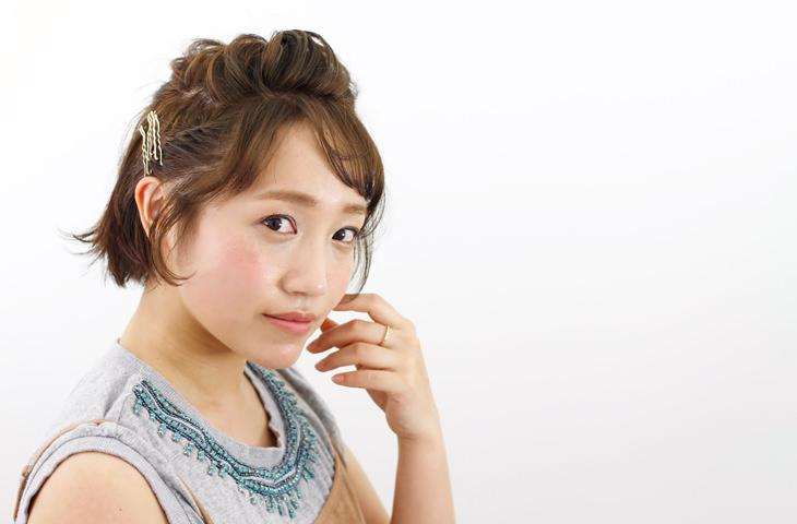 シースルーバングですっきり夏っぽヘア☆