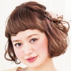 ふんわりハーフアップ×ロマンティックな三つ編み♡ ヘアアレンジ ショートヘア