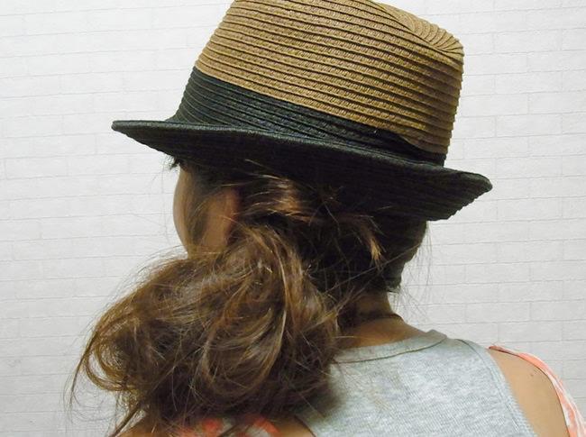 髪の毛の量が多くても安心!サイドお団子アレンジ