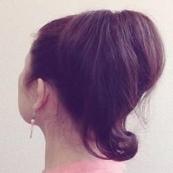 逆くるりんぱで作る!レトロかわいいポニーテール ヘアアレンジ ロングヘア
