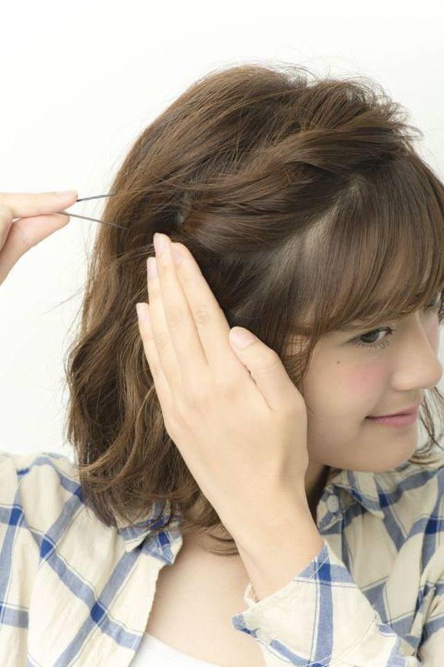 透け感のある前髪ですっきり&トレンド感♪1