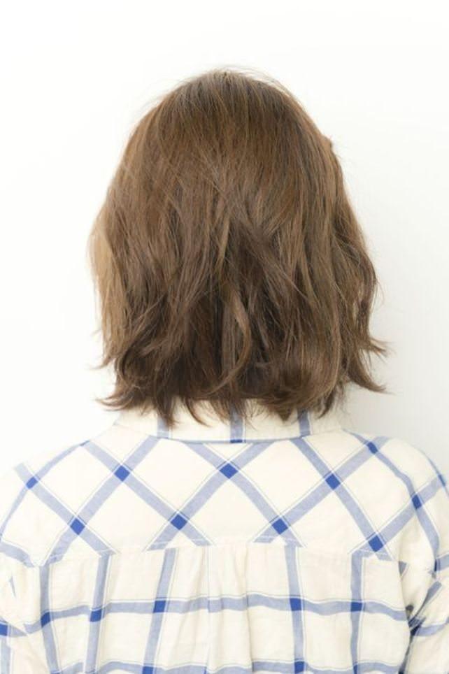 透け感のある前髪ですっきり&トレンド感♪back