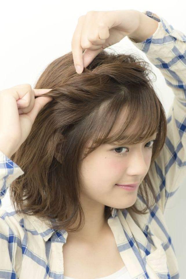 透け感のある前髪ですっきり&トレンド感♪2
