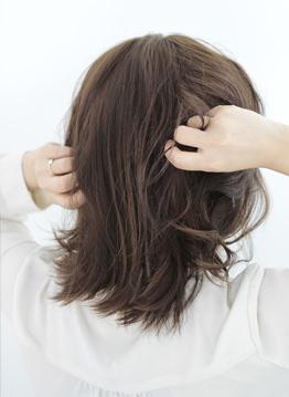 『 レディ・ダ・ヴィンチの診断』吉田羊風かきあげ前髪でつくるアップスタイル