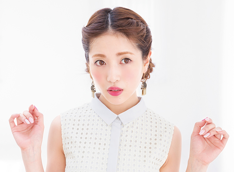 鈴木奈々風ツインお団子アレンジtop