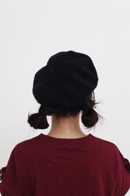 『黒い十人の女』のトリンドル玲奈みたいにかわいく!ベレー帽でヘアアレンジback