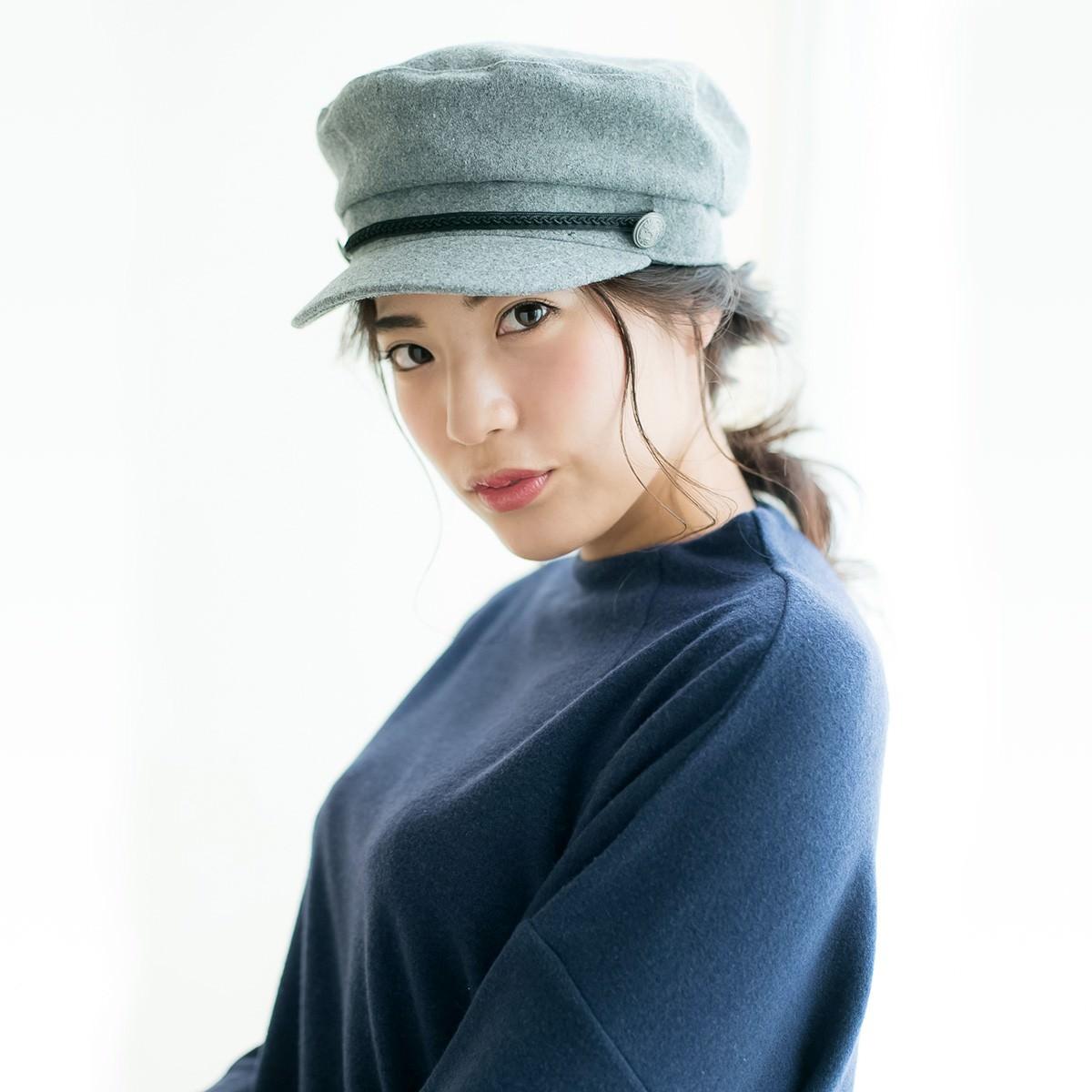 トレンドの「キャスケット」で大島優子風おしゃれアレンジTOP