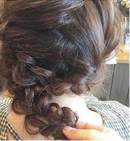 憧れの森絵梨佳さんみたいに♡おフェロなアップヘア6
