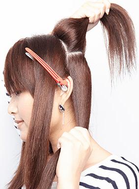 失敗しない!ミディアム~ロング☆巻き髪アレンジ3
