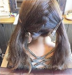 憧れの森絵梨佳さんみたいに♡おフェロなアップヘア1