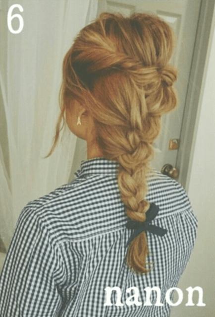 深田恭子みたいに色っぽく♪編み込みヘア