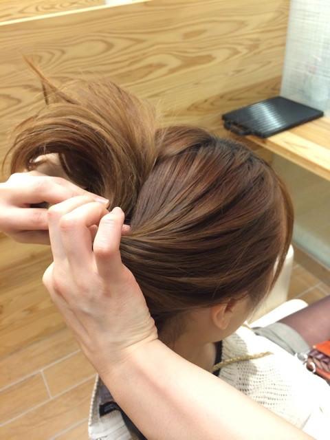 深田恭子さんみたいに上品&キュートな女性に♪くるりんぱポニテ5