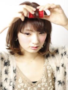 佐藤ありささんみたいなモテ美人に♡三つ編みハーフアップ2